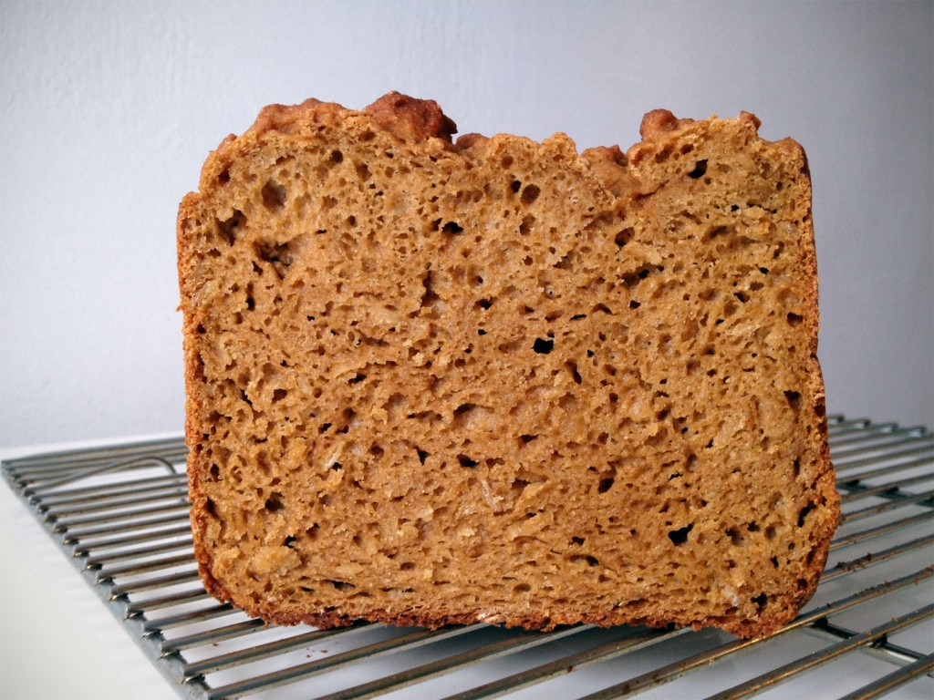 Gluten-free Whole Grain Oatmeal Bread