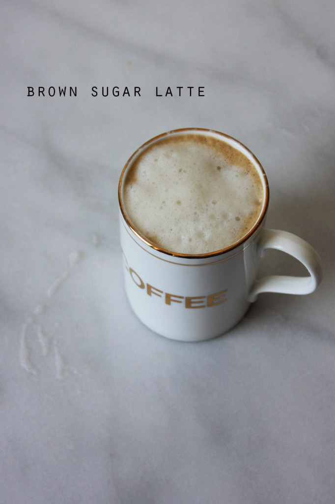 Brown Sugar Latte || Autumn Makes & Does