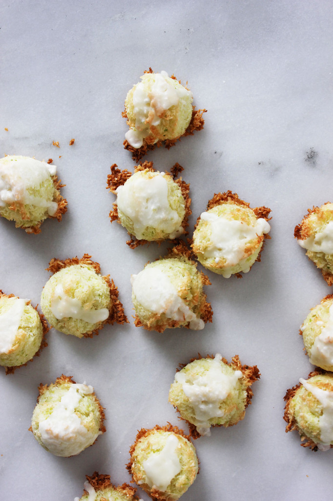 Kaffir Lime Macaroons // Autumn Makes & Does