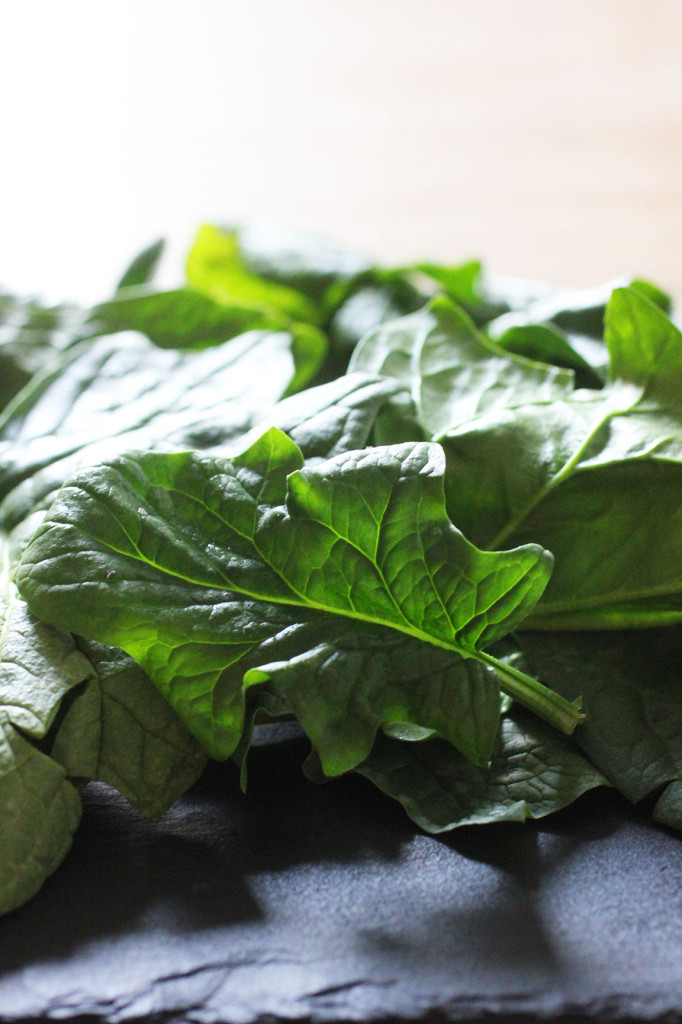 Overwintered Spinach: What it is & what to make with it now // Autumn Makes & Does