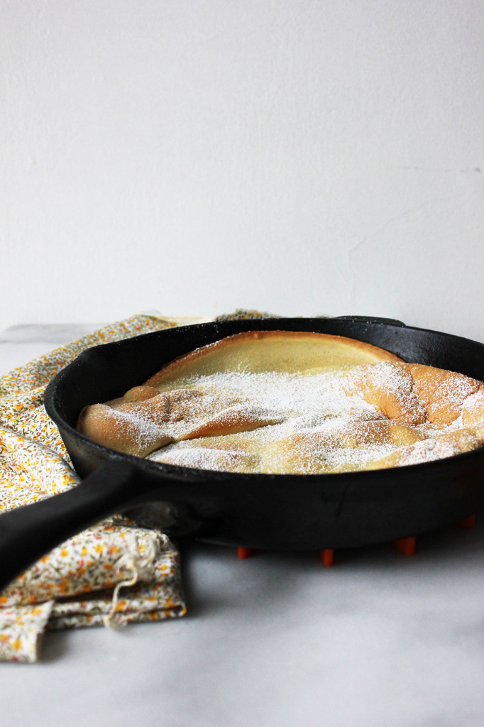 Gluten-free Dutch Baby // Autumn Makes & Does