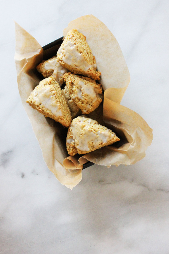Triple Vanilla Bean Scones // Autumn Makes