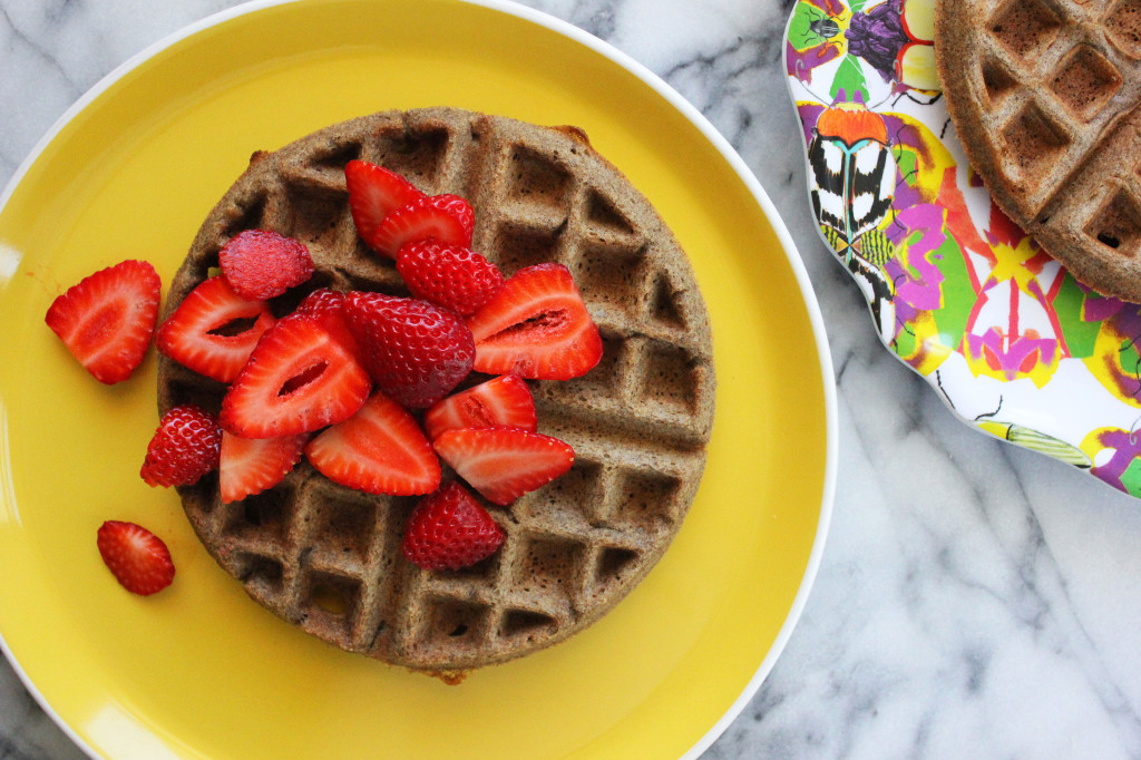 Buckwheat Waffles // Autumn Makes & Does