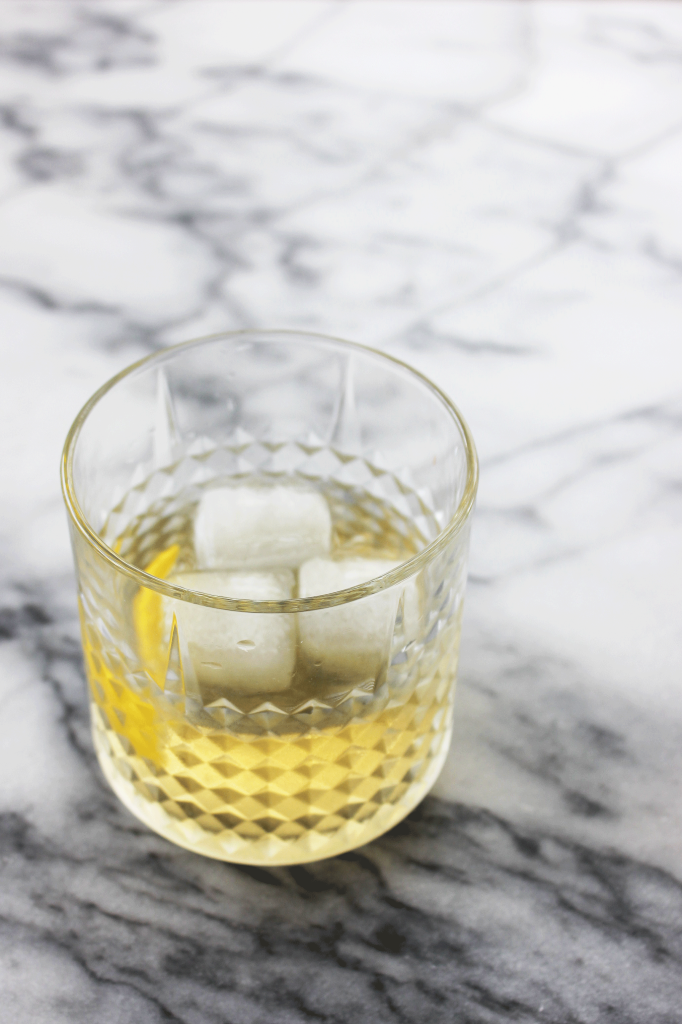 Roasted Pear Infused Mezcal Old Fashioned // Autumn Makes & Does for The Joy of Cooking