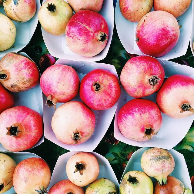 Pomegranates // Autumn Makes & Does