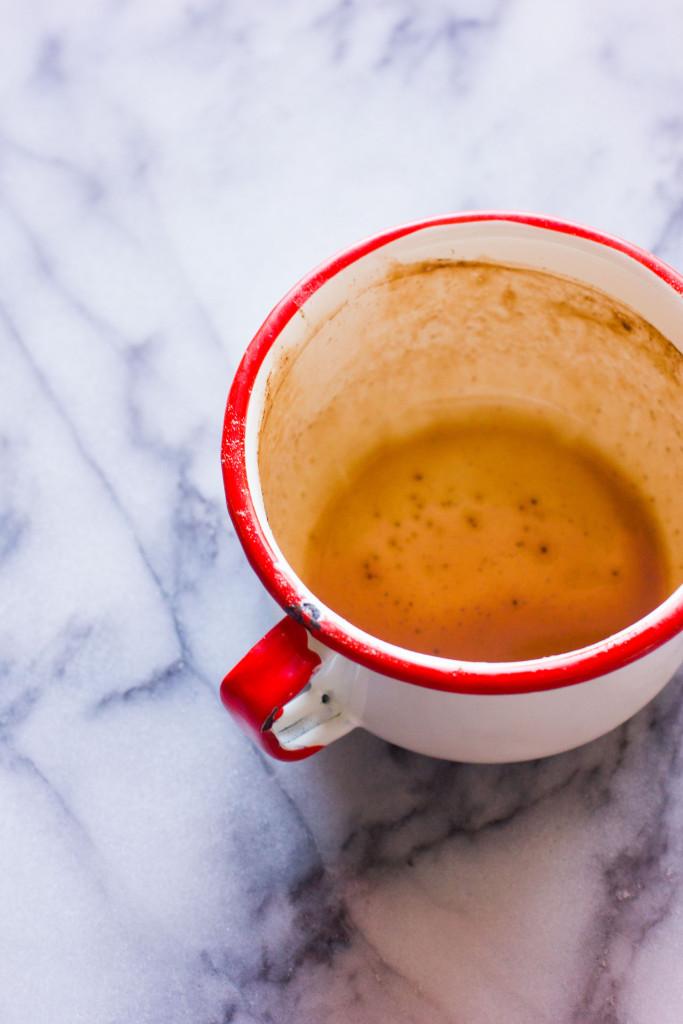 Coconut Cardamom Bourbon Hot Chocolate // Autumn Makes & Does