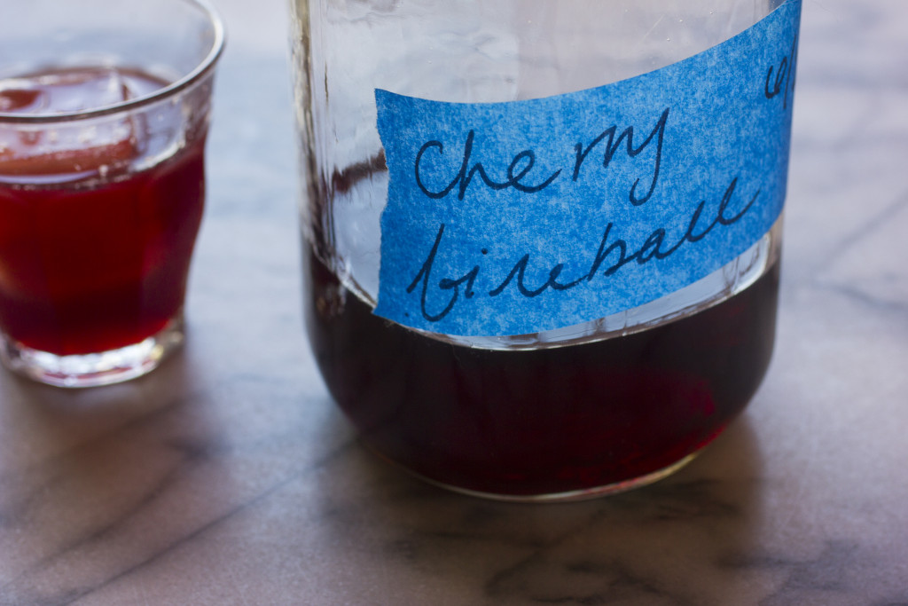Make your own Cherry Fireball // Autumn Makes & Does