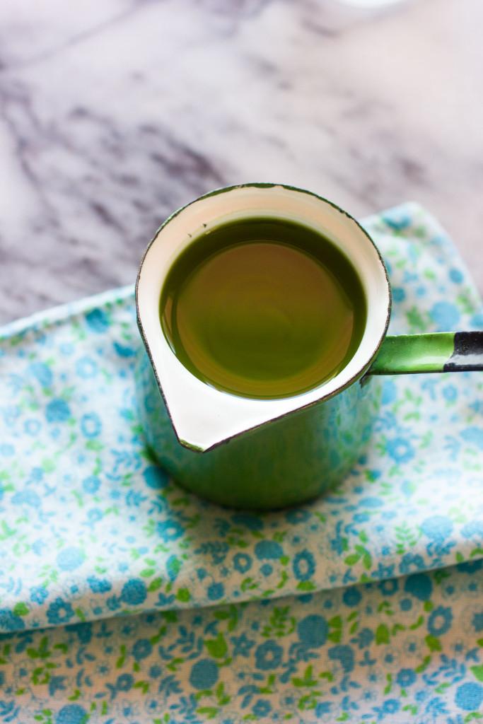 Matcha Teaffogato / Autumn Makes & Does