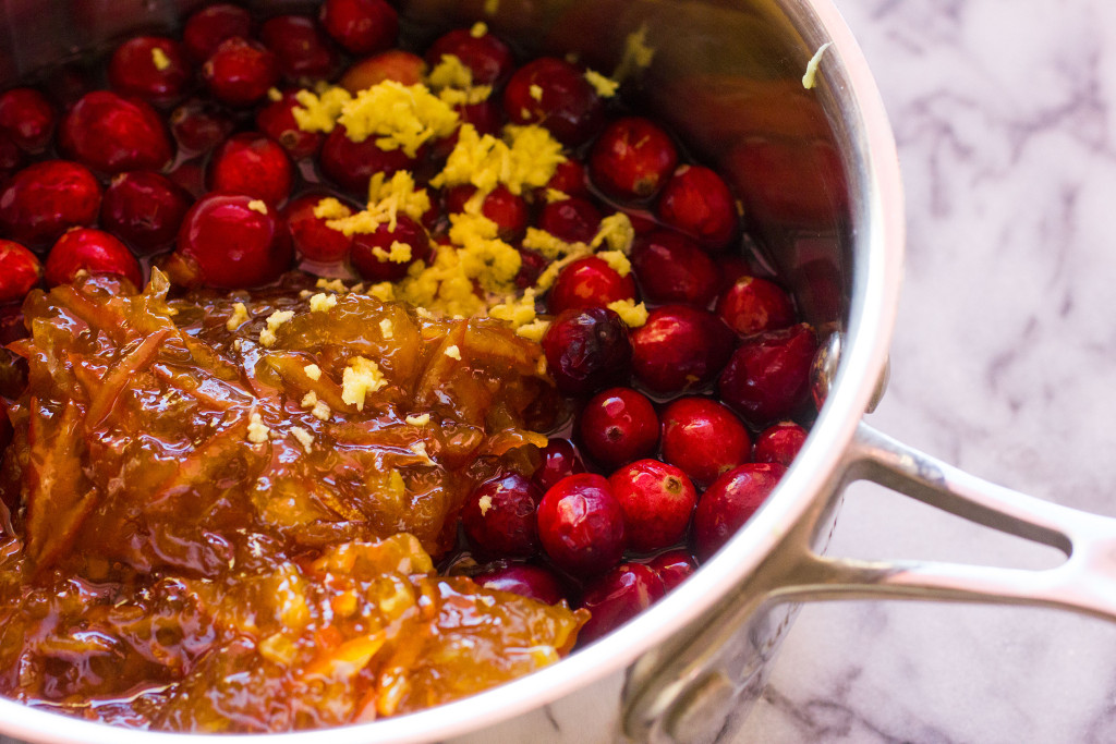 Marmalade Cranberry Sauce // Autumn Makes & Does